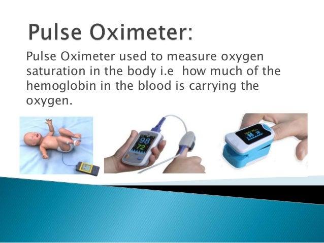 Pulse oximeter Slide 2