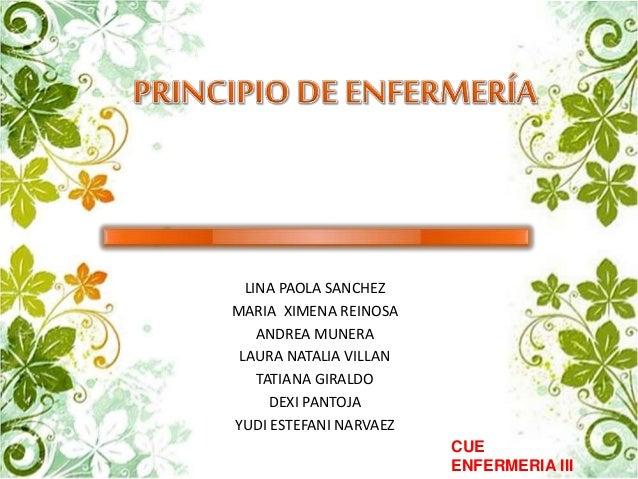 LINA PAOLA SANCHEZ  MARIA XIMENA REINOSA  ANDREA MUNERA  LAURA NATALIA VILLAN  TATIANA GIRALDO  DEXI PANTOJA  YUDI ESTEFAN...