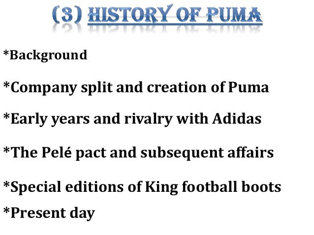 puma company case study Puma tricks client case study  collaboration is what our company is all about, so we're always interested in exploring new opportunities.