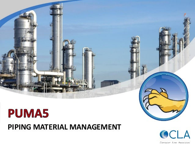 PIPING MATERIAL MANAGEMENT