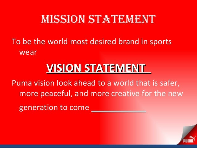 líquido par querido  ردهة دمية زي puma vision statement - 14thbrooklyn.org