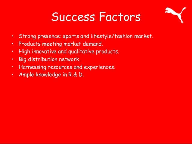 puma marketing report Puma se - strategy, swot and corporate finance report puma se (puma or 'the company') is engaged in the design, marketing and sale of sports footwear.