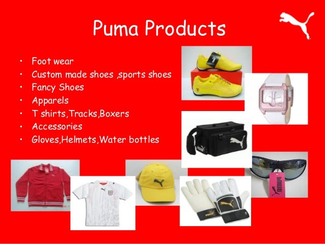 puma marketink mix It directly aims at the market and is a visible sign of marketing the origin of the marketing mix lies in mccarth's classic four p's (product, price, place, promotion) and designates a combination of marketing policy instruments by a compan 6 the marketing mix differs between product-, contracting-, distribution- and communication policy.