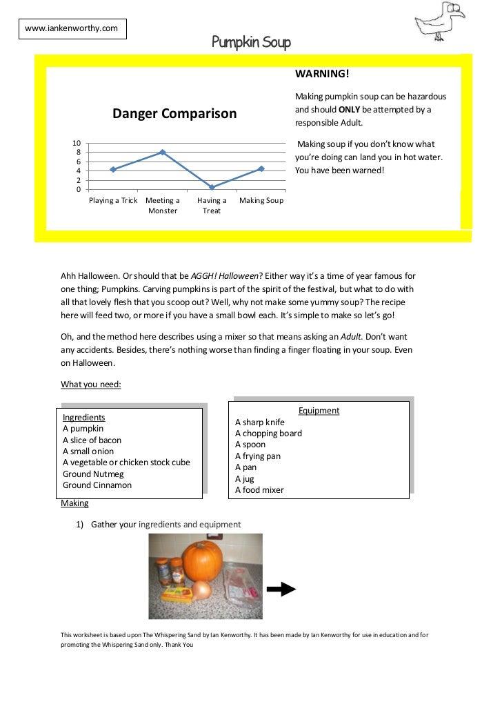www.iankenworthy.com                                                            Pumpkin Soup                              ...