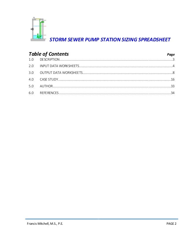 pump station design manual