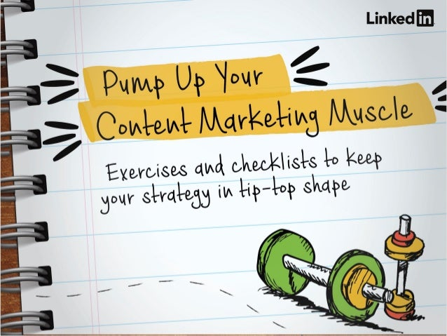 8 Worksheets to Pump Up Your Content Marketing Muscle