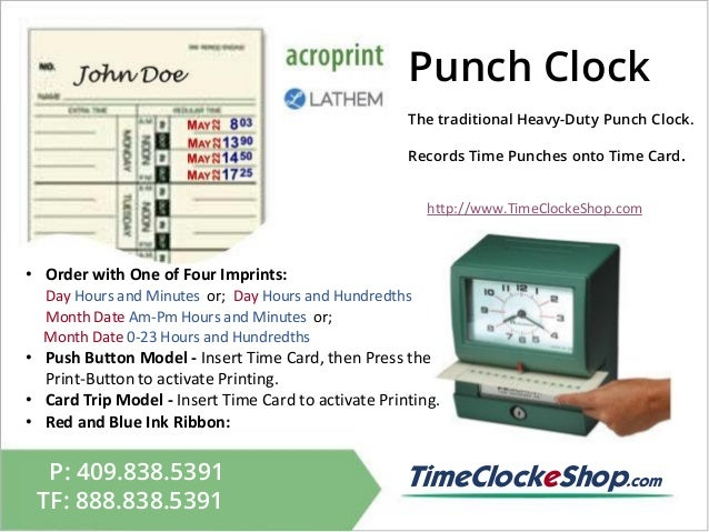 punch - Time Card Punch
