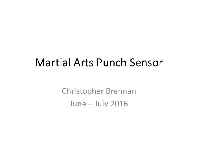 Punch sensor, Arduino