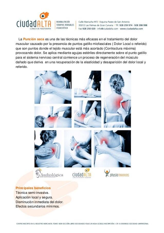 La Punción seca es una de las técnicas más eficaces en el tratamiento del dolor muscular causado por la presencia de punto...
