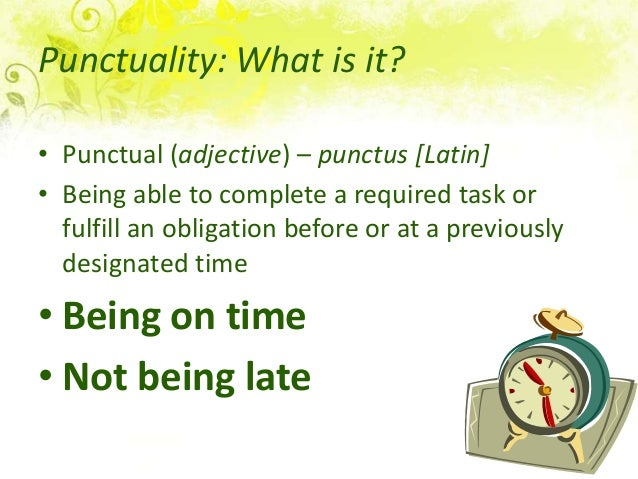 essay on punctuality