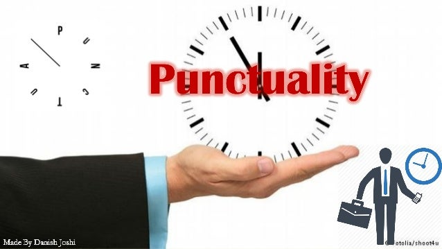punctuality and time