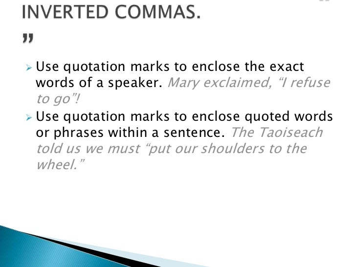 Do You Put Commas Before Quotes: Punctuation