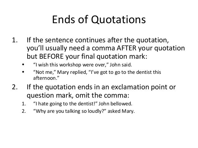 Does Question Mark Go Inside Quotes: Punctuation 5