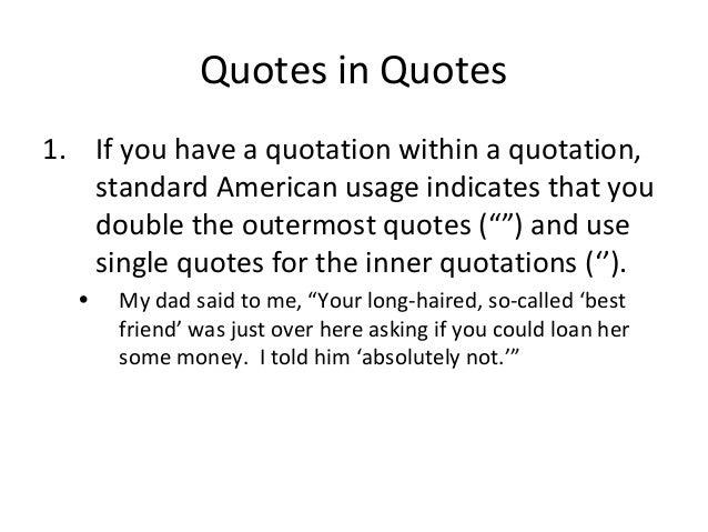Punctuation 5