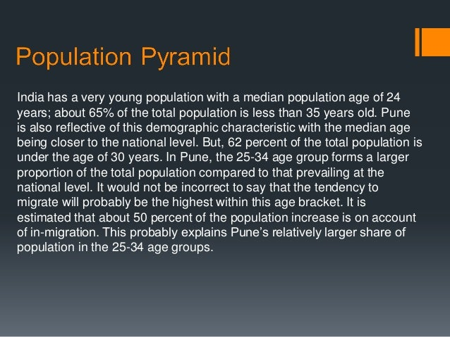 analysis of indias young population New analysis of data on the effects and  viii american indians and crime  can indian population age 18 or older.