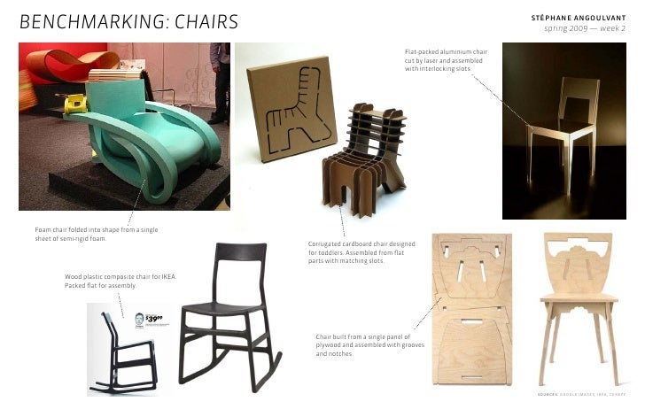 ... 5. BENCHMARKING: CHAIRS ...