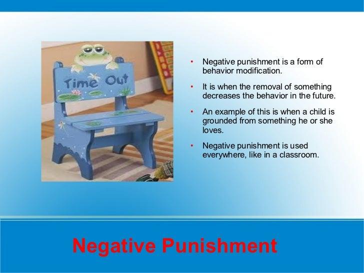 Punishment Reinforcement