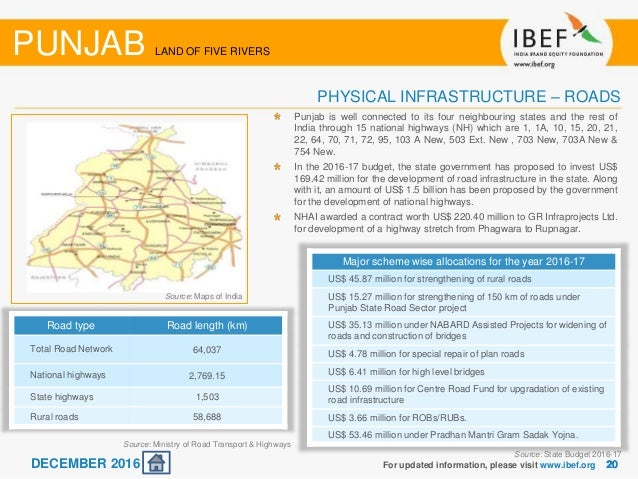 social infrastructure of punjab Impact of social and physical infrastructure on agricultural productivity in punjab, pakistan-a production function approach.