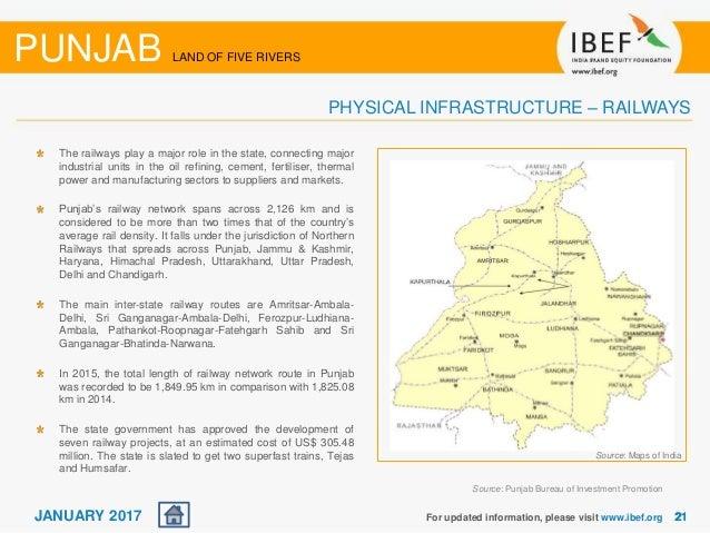 Punjab State Report - January 2017