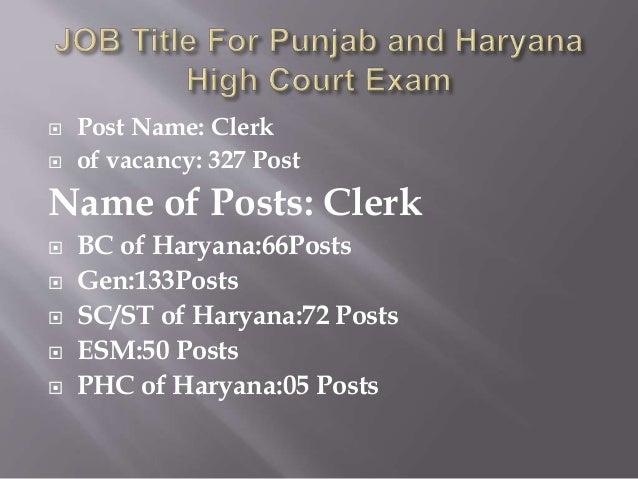 Punjab and haryana high court exam coaching in Chandigarh  Slide 2