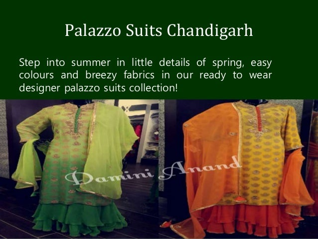 Online Punjabi Designer Suits Chandigarh
