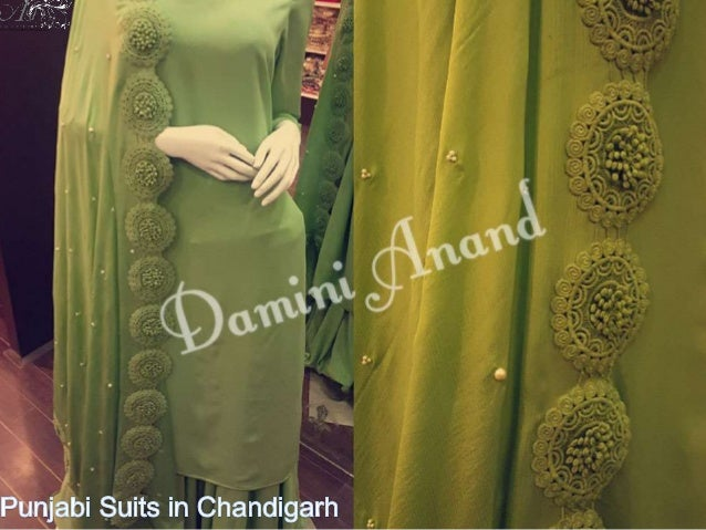 Punjabi Designer Suits Chandigarh