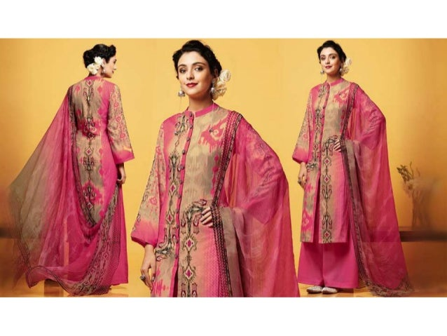 Punjabi Suits Designs Latest Palazzo Pant Style Salwar Suit India