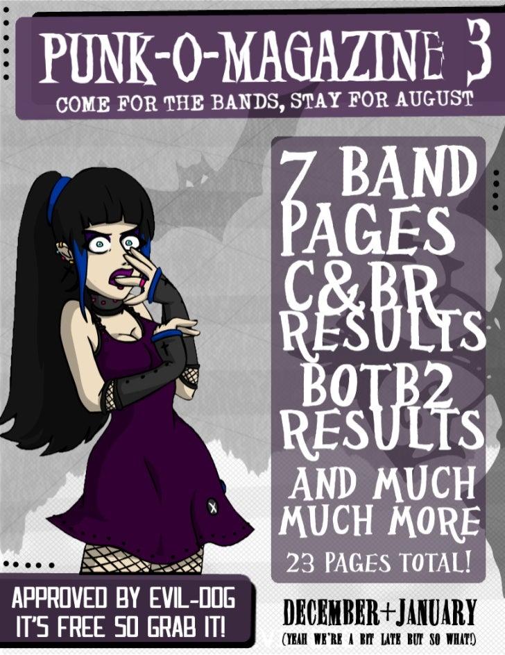 Punk-o-Magazine Issue #3