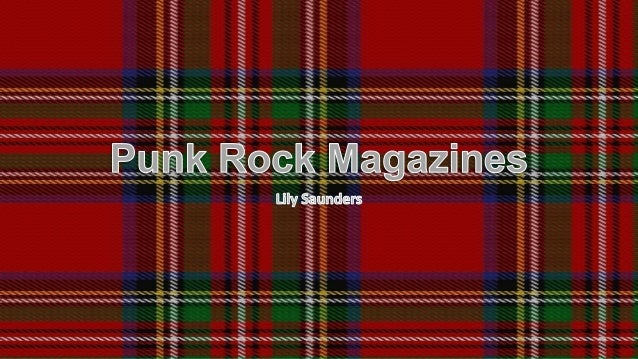 My Magazine • For my magazine, I will be using a punk rock style, strongly based around the popular Kerrang! magazine. In ...