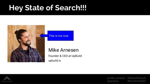 Punk Rock SEO from State of Search 2015 Slide 2