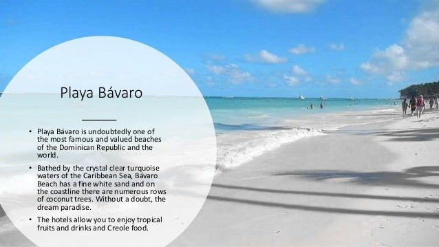 Playa Bávaro • Playa Bávaro is undoubtedly one of the most famous and valued beaches of the Dominican Republic and the wor...