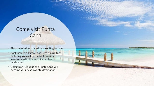 Come visit Punta Cana • This one of a kind paradise is waiting for you. • Book now in a Punta Cana Resort and start pictur...