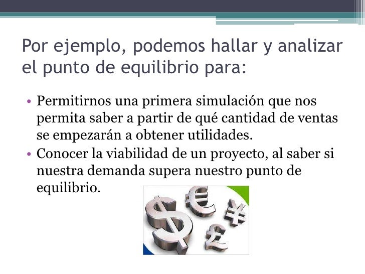 Por ejemplo, podemos hallar y analizar el punto de equilibrio para:<br />Permitirnos una primera simulación que nos permit...
