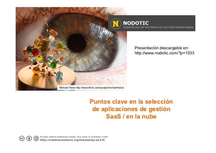 Presentación descargable en:                                                           http://www.nodotic.com/?p=1033Micha...