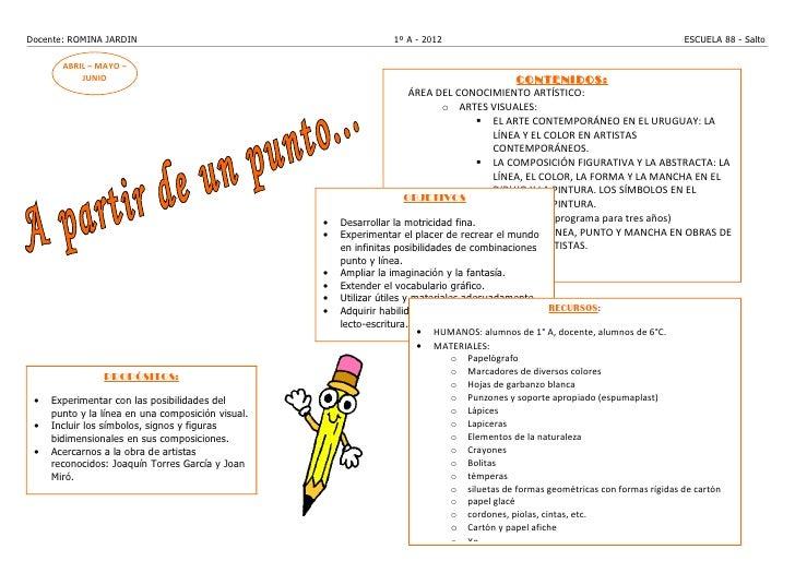 Docente: ROMINA JARDIN                                             1º A - 2012                                            ...