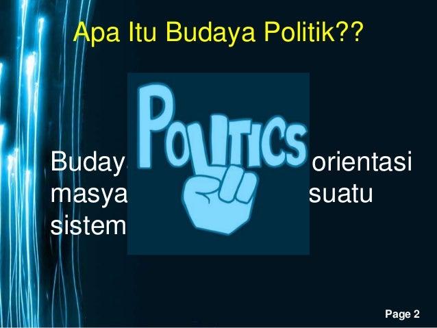 Budaya Politik Indonesia Kelas Xi Sabesehat
