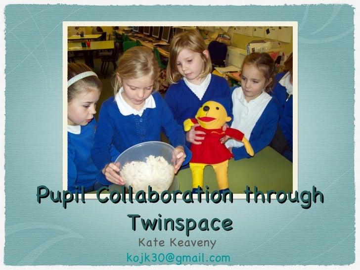 Pupil Collaboration through         Twinspace          Kate Keaveny        kojk30@gmail.com