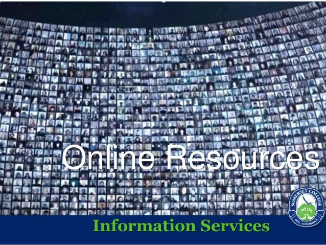 Online Resources Information Services