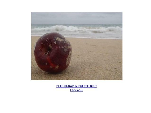 PHOTOGRAPHY PUERTO RICO Click aquí