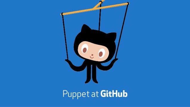 Puppet at GitHub