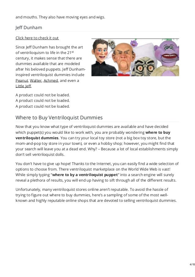 ventriloquist dummies for sale where to buy best stores by