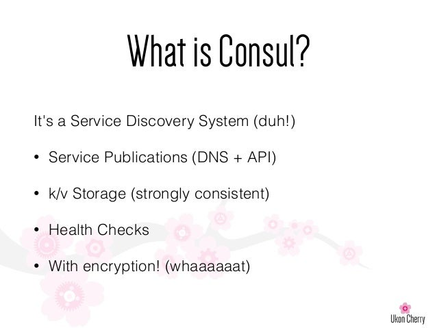 London puppet camp 2015 service discovery and puppet for Consul dns service