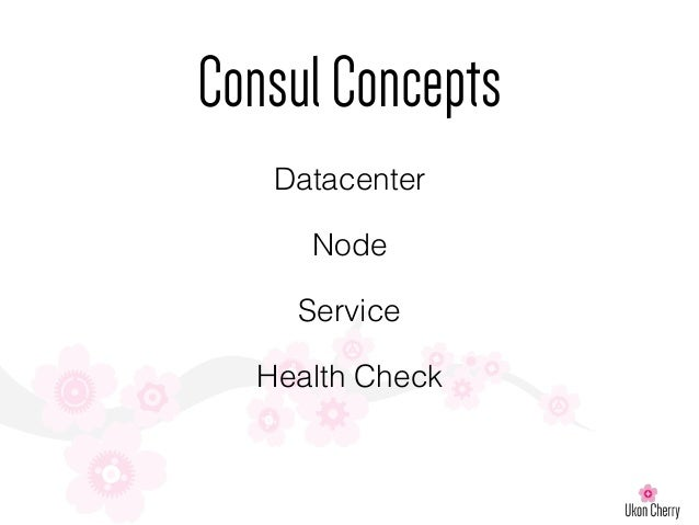 London puppet camp 2015 service discovery and puppet for Consul mysql health check