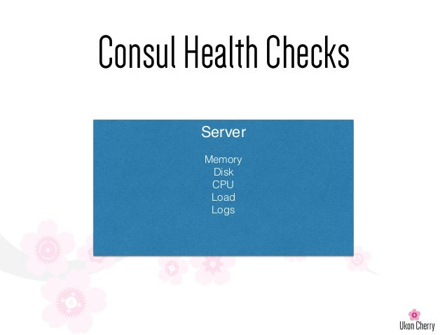 London puppet camp 2015 service discovery and puppet for Consul http health check