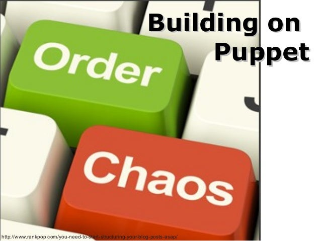 Building on Puppet  http://www.rankpop.com/you-need-to-start-structuring-your-blog-posts-asap/