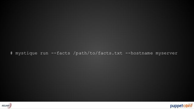 FROM mystique/debian:latest  ADD myserver-facts.txt /etc/facter/facts.d/  RUN puppet apply --modulepath=/etc/puppet/module...