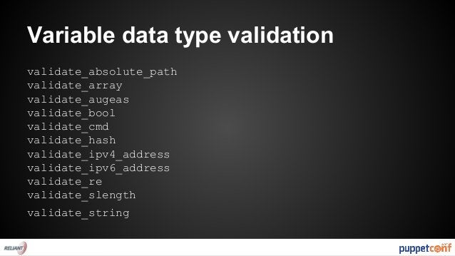 "Smoke testing  #tests/test.pp  class { 'apt': }  puppet apply --noop --modulepath="".."" tests/test.pp"