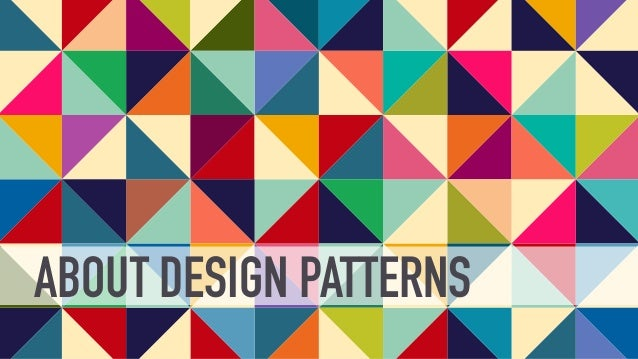 Design Patterns Introduced By Gang Of Four