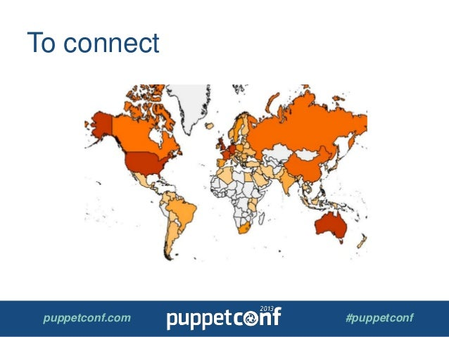 puppetconf.com #puppetconf To connect