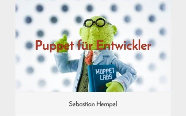Puppet für Entwickler